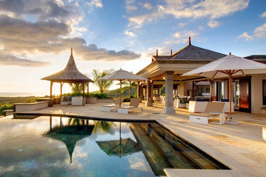 Our Villas in Mauritius for a Large Group
