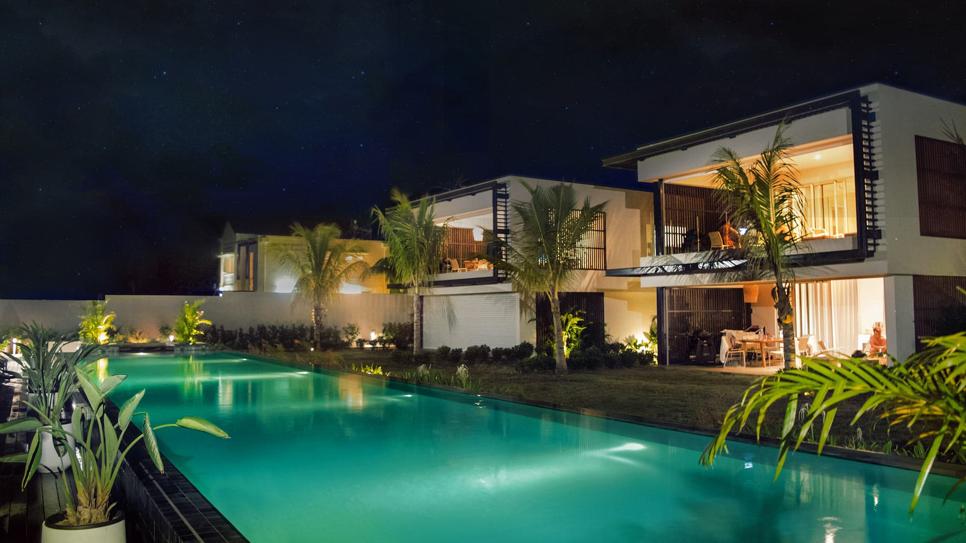Villa Appartement Blue Color, Rental in Mauritius North